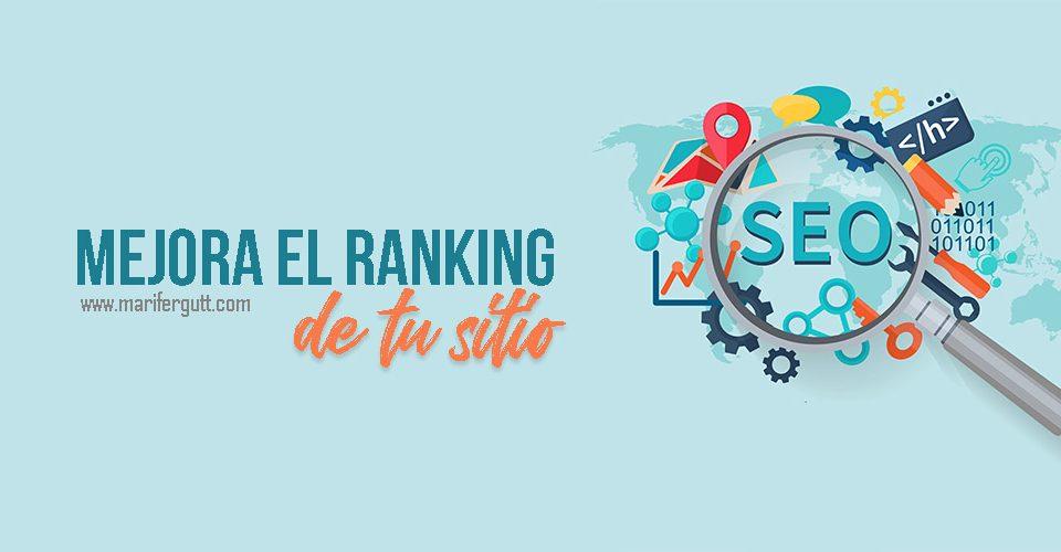 Consejos para mejorar el ranking del sitio
